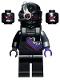 Minifig No: njo653  Name: Nindroid Warrior, Neck Bracket (for Jet Pack) - Legacy