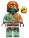 Minifig No: njo657  Name: Ronin - Legacy, Dark Green Bandana