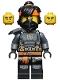 Minifig No: njo678  Name: Cole - The Island, Mask and Hair with Bandana