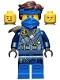 Minifig No: njo679  Name: Jay - The Island, Mask and Hair with Bandana
