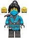 Minifig No: njo683  Name: Nya - The Island, Mask and Hair