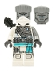 Minifig No: njo687  Name: Zane - The Island, Mask and Hair, Quiver