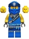 Minifig No: njo688  Name: Jay - Legacy, Rebooted, 'MASTER' Torso and Wrap