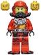 Minifig No: njo695  Name: Kai - Seabound, Scuba Gear