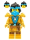 Minifig No: njo707  Name: Nya (Golden Ninja) - Legacy
