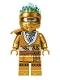 Minifig No: njo710  Name: Zane (Golden Ninja) - Legacy, Shoulder Armor, Energy Effect Wrap