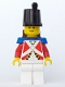 Minifig No: pi062  Name: Imperial Guard with Blue Epaulettes and Brown Backpack Non-Opening