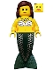 Minifig No: pi113  Name: Mermaid