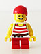 Minifig No: pi163  Name: Pirate Boy