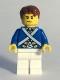 Minifig No: pi173  Name: Bluecoat Soldier 5 - Sweat Drops, Reddish Brown Hair
