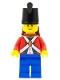 Minifig No: pi182  Name: Imperial Soldier II - Shako Hat Plain, Backpack