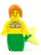 Minifig No: pi184  Name: Mermaid - Green Tail