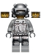 Minifig No: pm024  Name: Power Miner - Rex, Gray Outfit