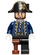 Minifig No: poc028  Name: Hector Barbossa with Pegleg