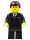 Minifig No: rac029  Name: F1 - Race Official