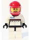 Minifig No: sc009  Name: Porsche Race Car Driver 3
