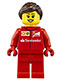 Minifig No: sc017  Name: Ferrari Pit Crew Member 5 - Female
