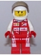 Minifig No: sc036  Name: Scuderia Ferrari SF16-H Driver