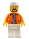 Minifig No: sc040  Name: Hot Dog Vendor Roscoe
