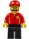 Minifig No: sc050  Name: Ferrari Engineer - Male