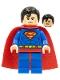 Minifig No: sh003a  Name: Superman - Spongy Soft Knit Cape
