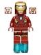 Minifig No: sh036  Name: Iron Man Mark 7 Armor