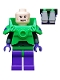 Minifig No: sh039  Name: Lex Luthor - Battle Armor, Dark Purple Legs
