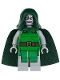 Minifig No: sh052  Name: Dr. Doom