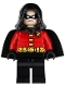 Minifig No: sh059  Name: Robin - Black Cape and Hood
