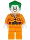 Minifig No: sh061  Name: The Joker - Prison Jumpsuit with Belt