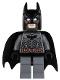 Minifig No: sh064  Name: Batman - Dark Bluish Gray Suit with Copper Belt