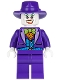 Minifig No: sh094  Name: The Joker - Blue Vest, Dark Purple Fedora