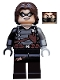 Minifig No: sh181  Name: Winter Soldier - Light Bluish Gray Hand