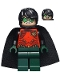 Minifig No: sh195  Name: Robin - Dark Green Legs