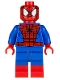 Minifig No: sh205  Name: Spider-Man - Black Web Pattern, Red Boots