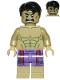 Minifig No: sh212  Name: Hulk - Dark Purple Pants with Dark Red Pattern
