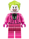 Minifig No: sh238  Name: The Joker - Dark Pink Suit