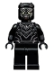 Minifig No: sh263  Name: Black Panther, Teeth Necklace