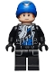 Minifig No: sh281  Name: Captain Boomerang - Black Outfit