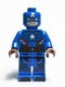 Minifig No: sh295  Name: Steve Rogers Captain America - San Diego Comic-Con 2016 Exclusive