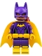 Minifig No: sh305  Name: Batgirl, Yellow Cape, Dual Sided Head with Smile/Annoyed Pattern
