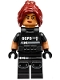 Minifig No: sh328  Name: Barbara Gordon - SWAT Vest
