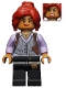 Minifig No: sh337  Name: Barbara Gordon - Pinstripe Vest