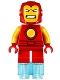 Minifig No: sh362  Name: Iron Man - Short Legs