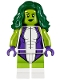 Minifig No: sh373  Name: She-Hulk