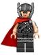 Minifig No: sh409  Name: Thor - Red Cape, Helmet