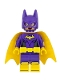 Minifig No: sh419  Name: Batgirl, Yellow Cape, Dual Sided Head with Smile/Angry Pattern