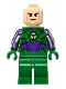 Minifig No: sh459  Name: Lex Luthor, Green and Dark Purple Light Armor