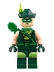 Minifig No: sh465  Name: Green Arrow, Green Hat with Feather