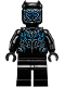 Minifig No: sh478  Name: Black Panther, Claw Necklace, Metallic Blue Highlights